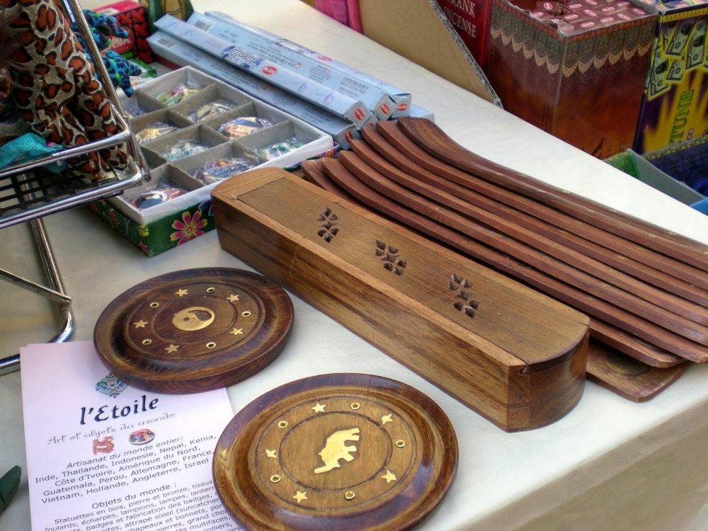Incense Holders at display