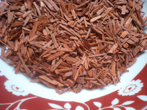Red Sandalwood to be sold at a Christmas market